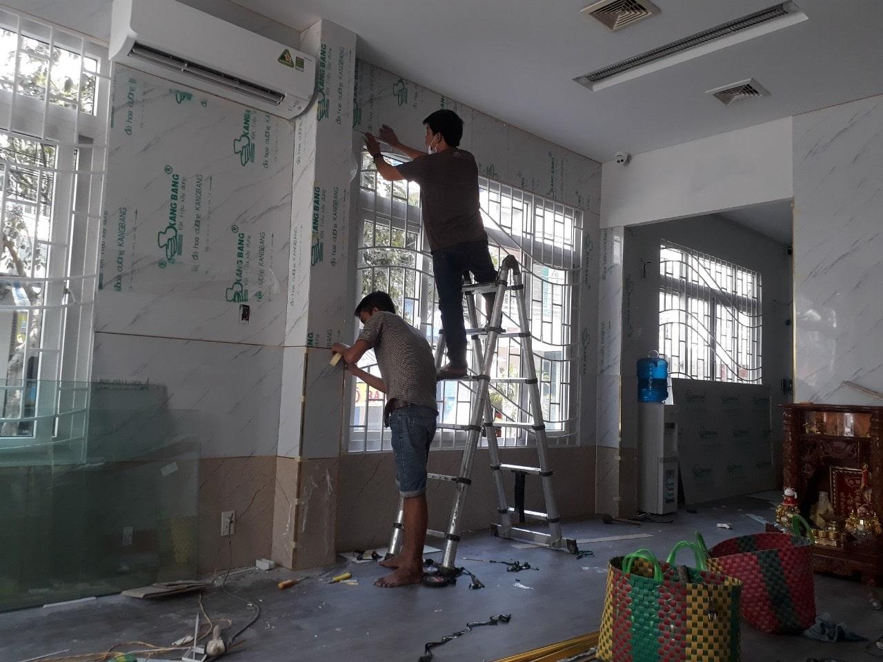 tấm nhựa giả đá ốp tường tại phú quốc