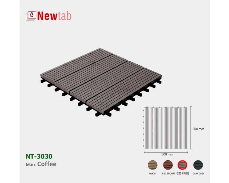 Vi Gỗ Nhựa Ngoài Trời - Màu Coffee